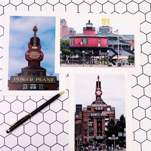 Other - Baltimore Photo Note Card. All Occasions Set of 3